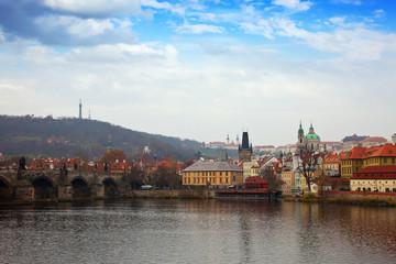 Prague wih Charles bridge