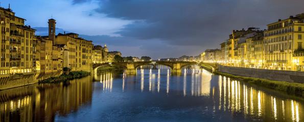 old bridge Ponte del Veccio in Florence