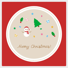 Merry Christmas greeting card22