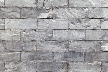 Seamlessly stony wall background - texture pattern for continuou