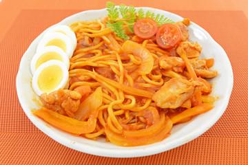 美味しいスパゲッティ