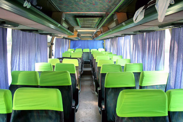 Interior of a coach