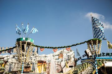 Oktoberfest Fahrgeschäft Rund um den Tegernsee