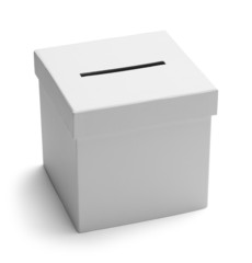 Ballot Box White