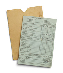 Old Report Card