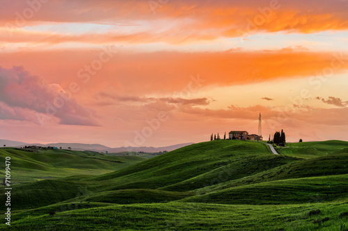 Tuscany Sunset - 71099470