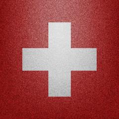 Switzerland Denim flag