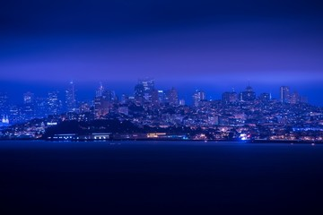 San Francisco Night Panorama