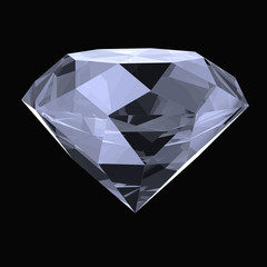 diamond 3d render illustration