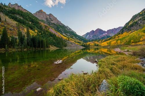 Foto op Aluminium Bergen Colorado Mountains in Fall