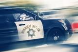 Fototapety California Highway Police