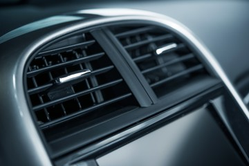 Car Air Vent Closeup
