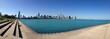 Chicago skyline America