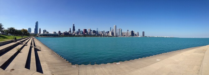 Chicago skyline America