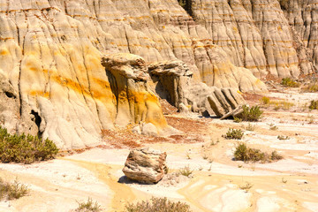 Eroded Cliffs in the Badlands