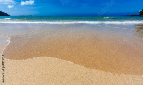 canvas print picture Shallow Wave