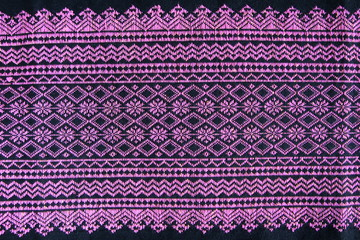 Hand-woven cloth that is produced from the northern Thai..