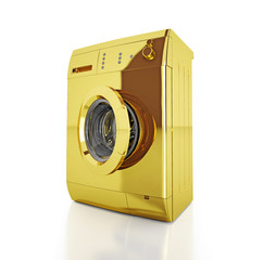 gold washing machine