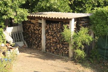 du bois pour l'hivers
