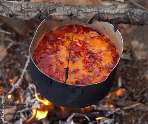 суп на костре рецепт с фото