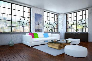 Luxurios apartment - living room