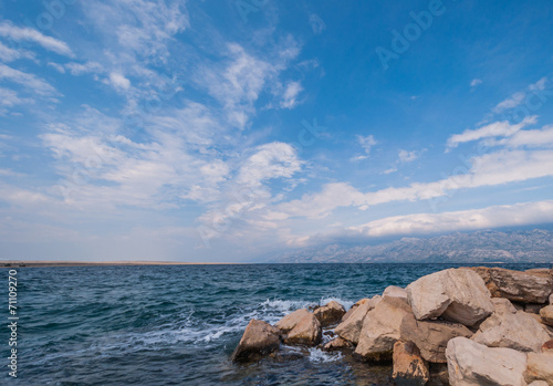 canvas print picture Meer
