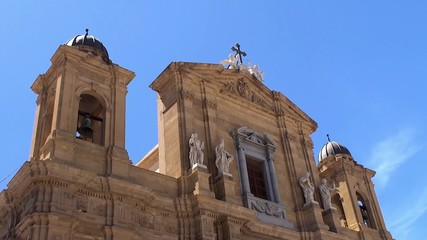 Marsala Cathedral. Sicily