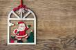 canvas print picture - Weihnachtsmann