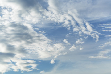 summer sky cloudscape