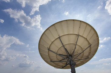 Satellite Dish for Telecommunications