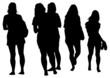 Crowd of girls