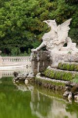 Griffin at Parc de la Ciutadella in Barcelona