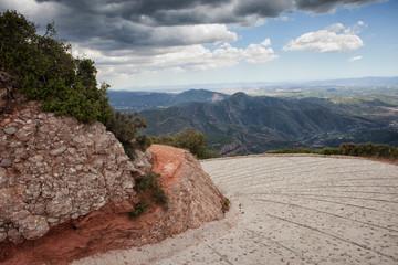 Mountain Road Turn