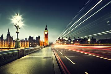 Big Ben from Westminster Bridge, London