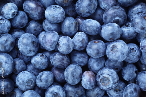 fresh ripe blueberries berries © GCapture