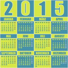 Kalender 2015 Deutsch