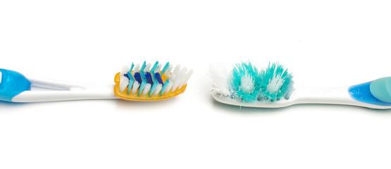 Replacing old toothbrush