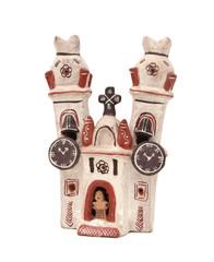 Souvenir du Pérou - Eglise en terracotta