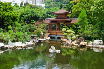 Hong Kong public garden