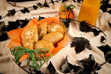 Halloween  pumpkin pies