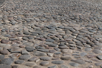 street paved with stone