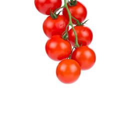 Bunch of cherry tomatoes.