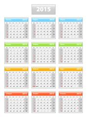 2015 croatian calendar