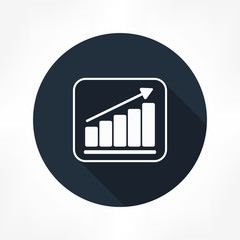 grow graph icon