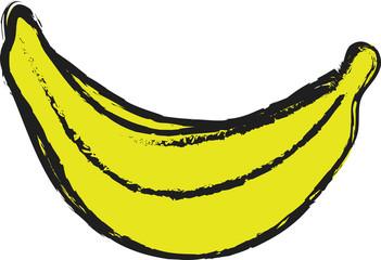 doodle banana