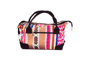 Stylish handmade bag.