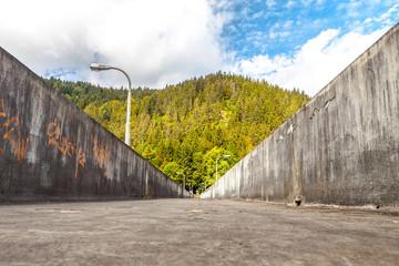 Staudamm im Schwarzwald