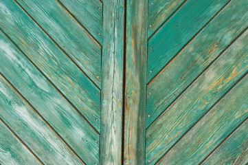 texture of old painted boards, can be used as background