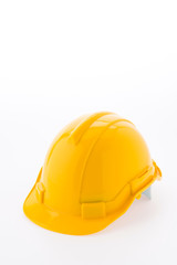 Hard hat isolated on white background