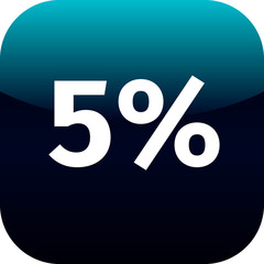 5 percent icon